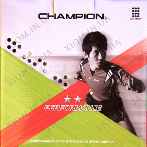 table tennis ball xiom champion performance 2 star