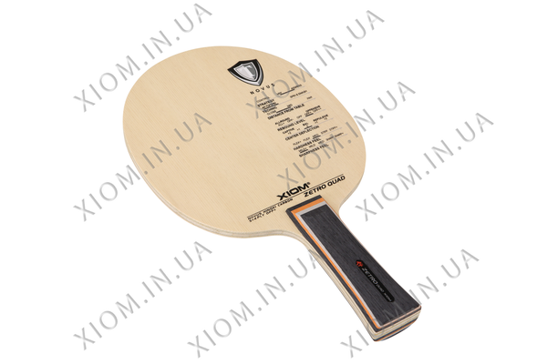 xiom zetro quad table tennis racket blade
